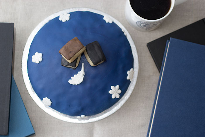Oxford Cake. From Above
