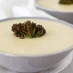 Stilton and broccoli soup