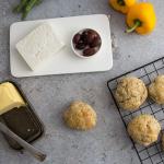 Olive oil scones