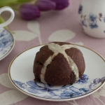 Chocolate Hot Cross Buns