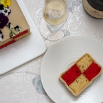 Strawberries and Champagne Battenberg