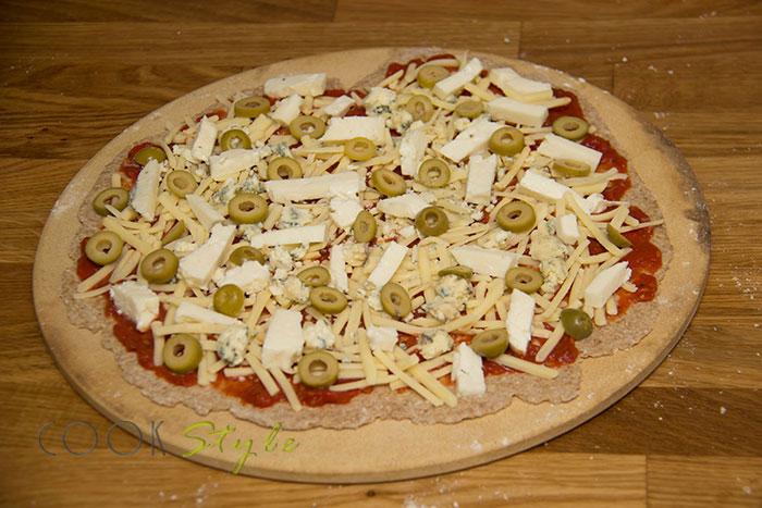 08 Halloumi pizza