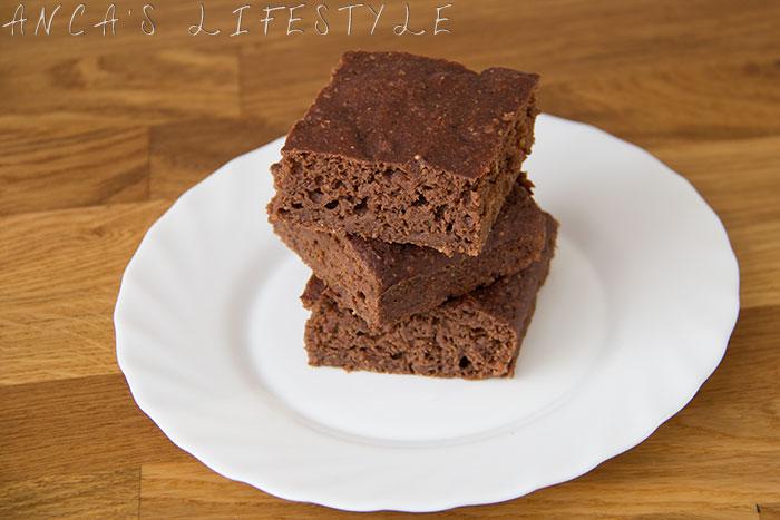 08 Low calories chocolate brownies recipe