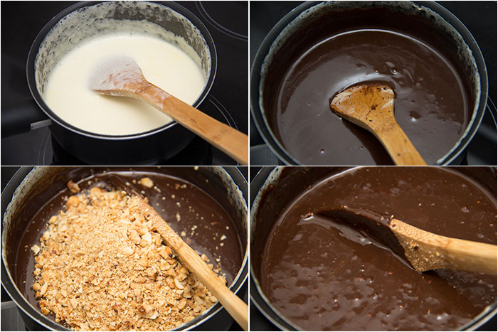 02 Hazelnut chocolate tart