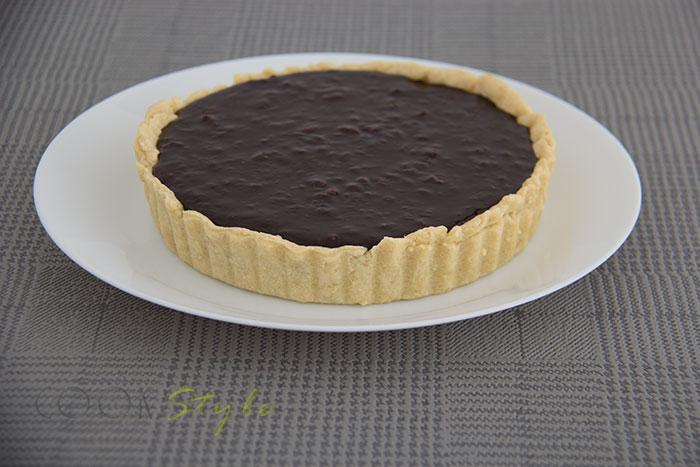 03 Hazelnut chocolate tart