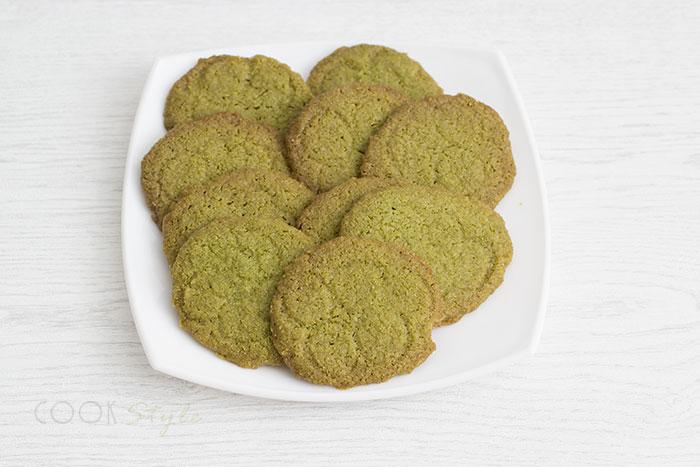 Matcha Biscuits