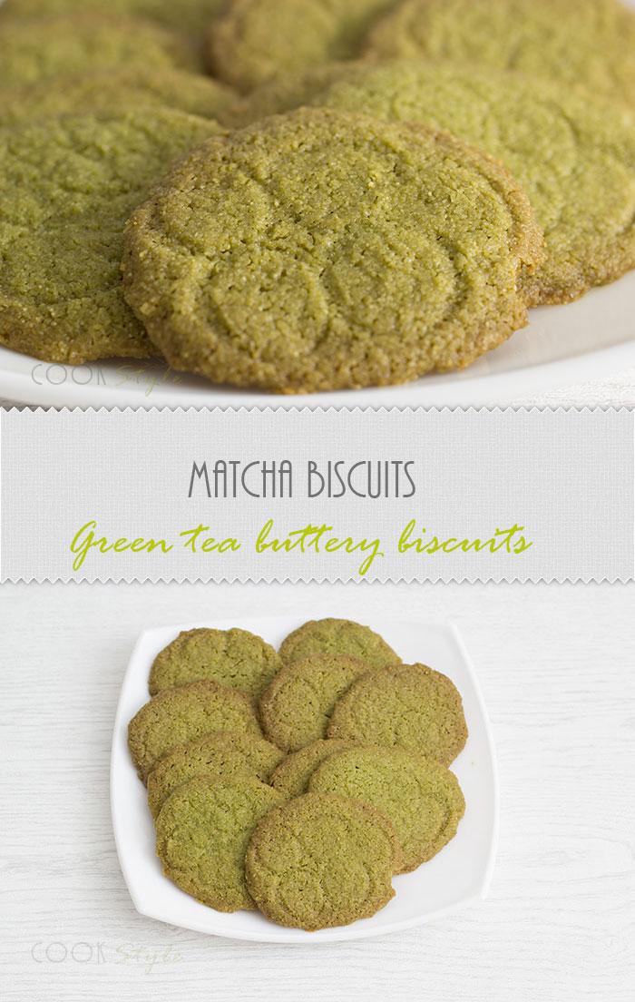 Matcha Biscuits recipe