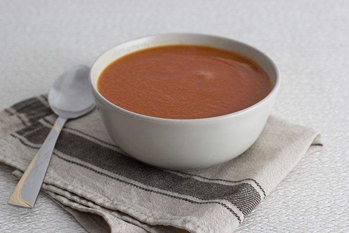 01 Tomato and cauliflower soup