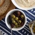 Make Your Own Speciality Olives. Picture from the top