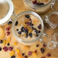 Spiced Apple Overnight oats