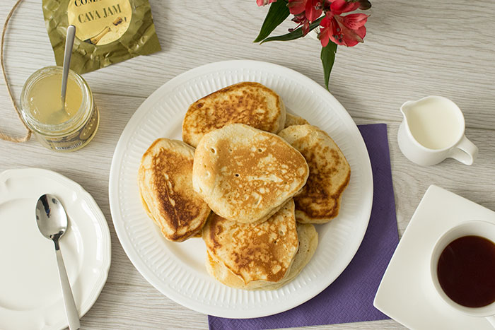 Drop Scones. Royal Recipes - drop scones made by Queen Elizabeth II