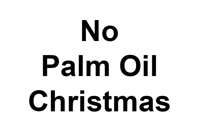 No Palm Oil Christmas