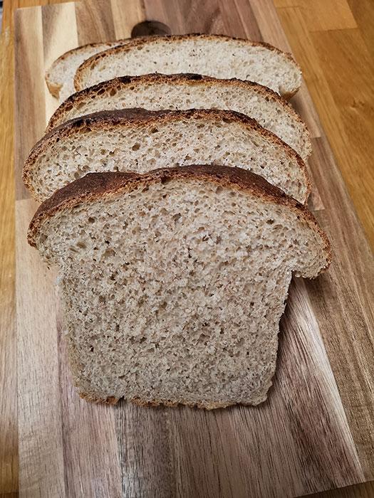 Bread. Sliced