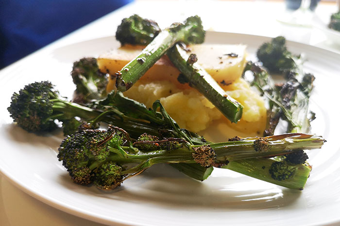 Purple Sprouting Broccoli Side Dish