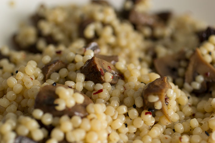 Mushrooms Couscous
