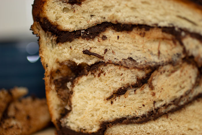 Babka. close up