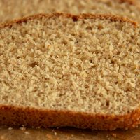 Split pea bread