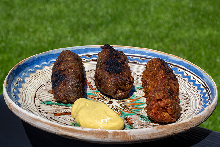 Mici - Romanian kebabs