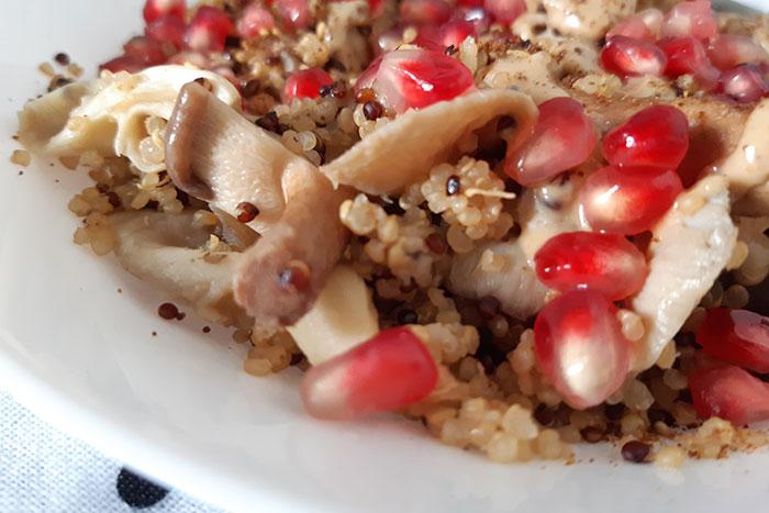 Quinoa warm salad